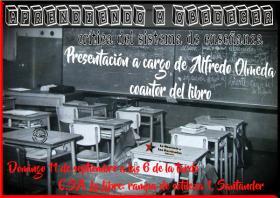 """Presentación del libro """"Aprendiendo a obedecer"""" a cargo de Alfredo Olmeda, coautor del libro. La Libre. Santander"""