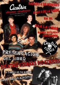 """Presentación del libro """"Cicatriz. Eternas cicatrices"""". La Libre. Santander"""