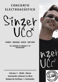 Concierto Electro-acústico de Sinzer Uco. La Libre. Santander