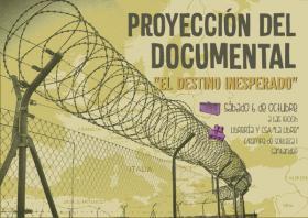 """Proyección del documental: """"El destino inesperado"""". La Libre. Santander"""