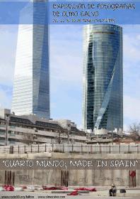 """Exposición """"Cuarto mundo made in Spain"""". La Libre. Santander"""