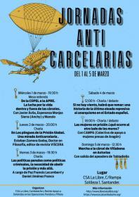 """Charla-debate: """"Si no hay viento habrá que remar. Una historia de la última oleada represiva al anarquismo en el Estado español"""". La Libre. Santander"""
