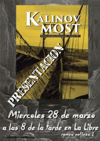 Presentación de la revista anarquista internacional Kalinov Most. La Libre. Santander