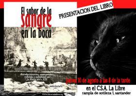 Presentación del libro: «El sabor de la sangre en la boca». La Libre. Santander