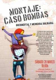 """Proyección: """"Montaje: Caso Bombas"""" y merienda solidaria """"caso Pandora"""". La Libre. Santander"""