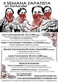 Conversación con medios libres de México y Viñetas para la Rebeldía. La Libre. Santander