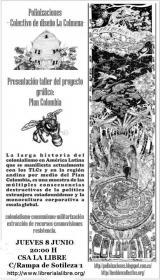 Presentación-taller del proyecto gráfico Plan Colombia. La Libre. Santander