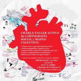 Charla-taller activo de Cartografía Social y Mapeo Colectivo. La Libre. Santander