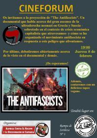 """Proyección del documental: """"Los antifascistas"""". La Libre. Santander"""