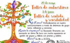 Taller de autoestima con la Asociación Amaranta. La Libre. Santander