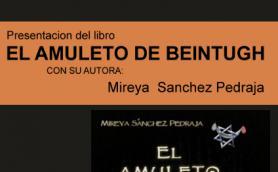 """Presentación del libro:  """"El amuleto de Beintugh"""" con su autora Mireya Sánchez. La Libre. Santander"""