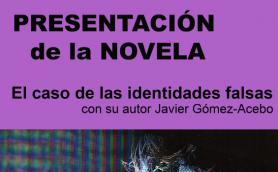 """Presentación de la novela """"El caso de las identidades falsas"""" con su autor Javier Gómez-Acebo. La Libre. Santander"""