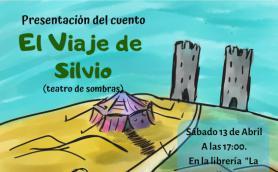 presentación del libro el viaje de silvio teatro de sombras after perdices libreria la libre santander