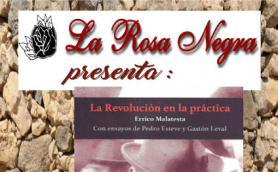 """Presentación del libro: """"La Revolución en la práctica"""" de Errico Malatesta. La Libre. Santander"""