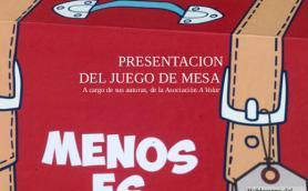 """Presentacion del juego de mesa """"Menos es Max"""" a cargo de sus autoras de la Asociación A Volar. La Libre. Santander"""