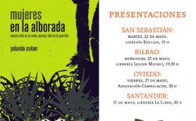 """Presentación del libro: """"Mujeres en la alborada"""" con su autora Yolanda Colom. La Libre. Santander"""
